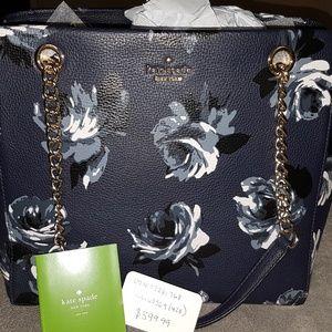 Kate Spade Midnight Rose handbag